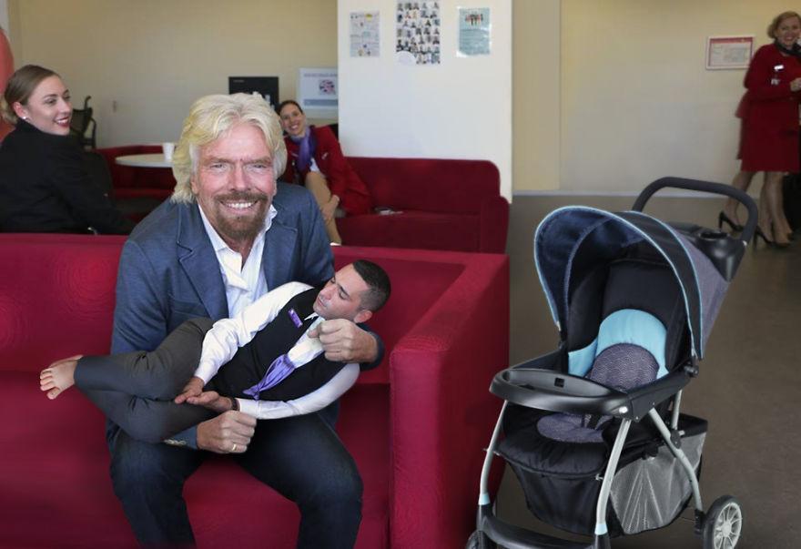 pillada Richard Branson 3