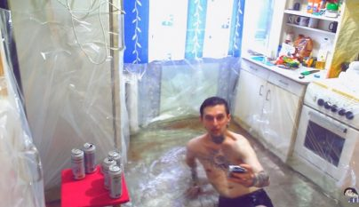 piscina made in Rusia