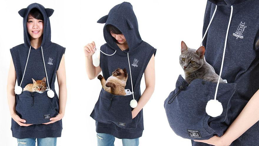 sudadera Unihabitat para gatos 1
