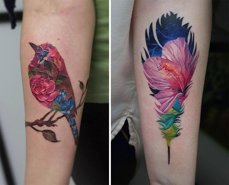 tatuajes doble exposicion 2