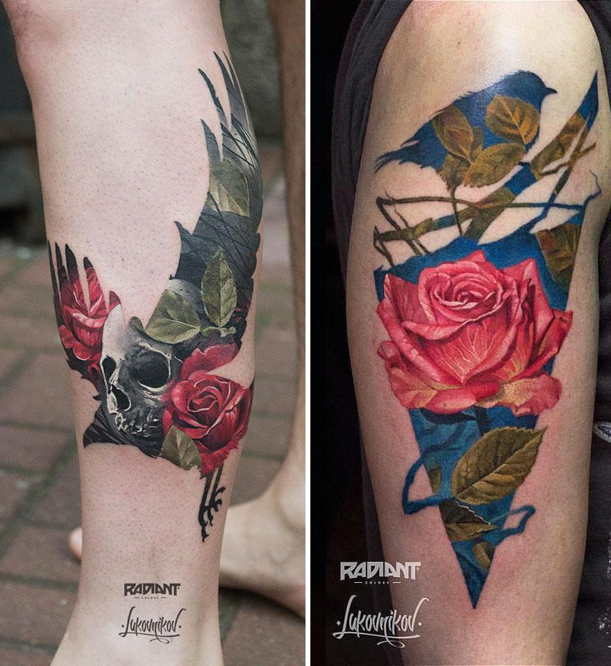 tatuajes doble exposicion 8
