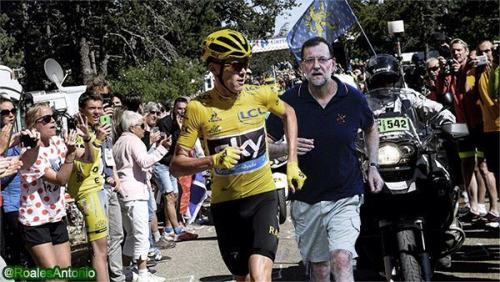 Chris Froome y Rajoy