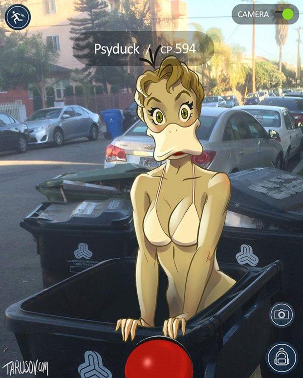 Pokemon en plan sexy 7