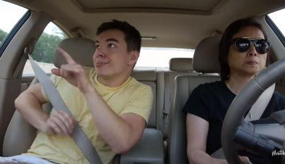 baile en el coche