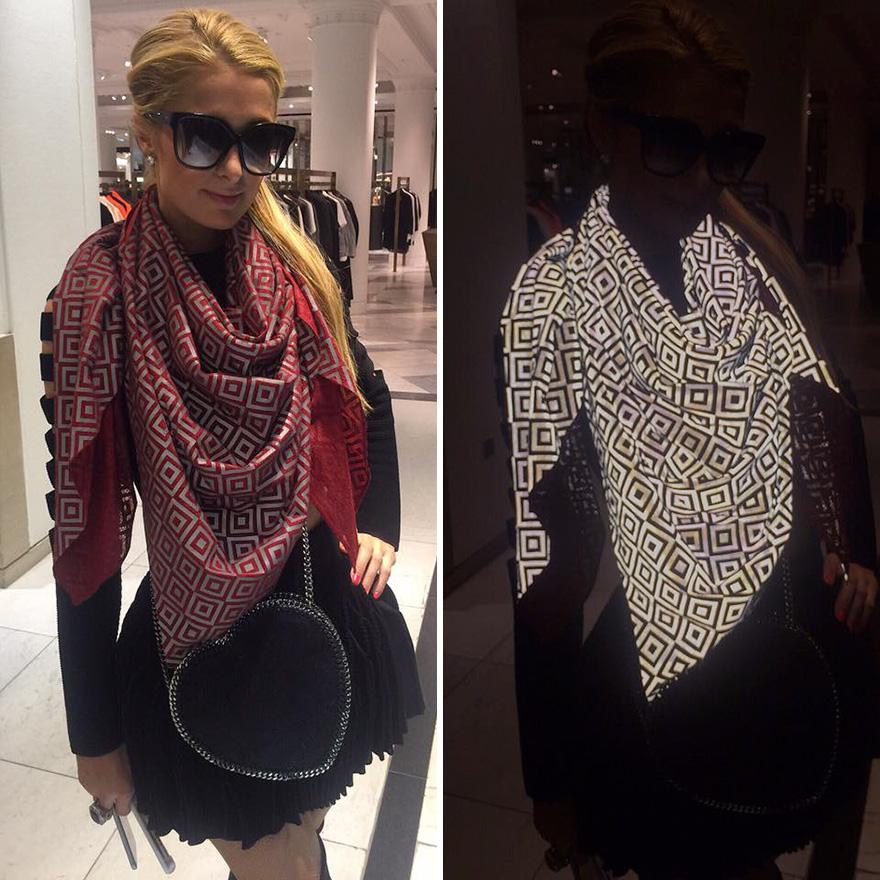 bufanda anti paparazzis 1