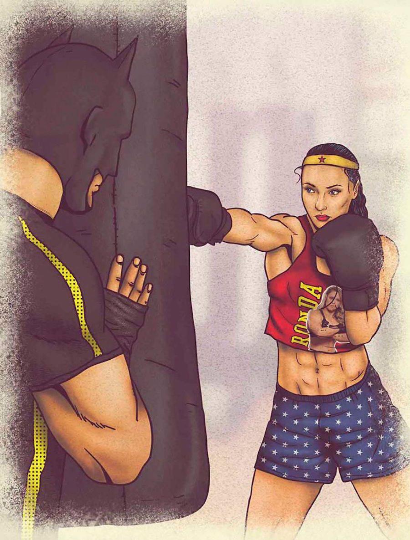 dibujos dia a dia superheroes 11