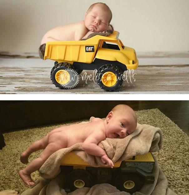 expectativa vs realidad fotos bebes 4