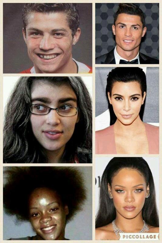 famosos que eran muy feos