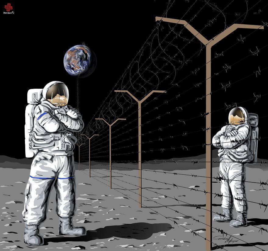 ilustraciones satiricas 2