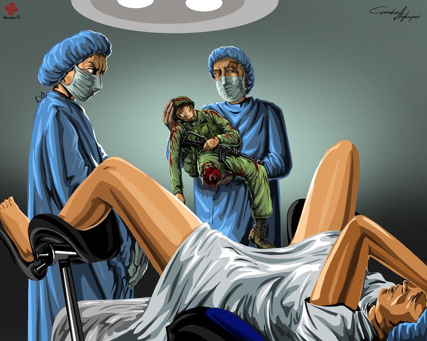 ilustraciones satiricas 9