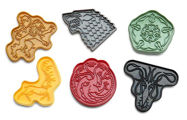 moldes galletas Juego de Tronos 1