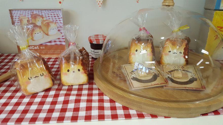 pan con forma de gato rechoncho 8