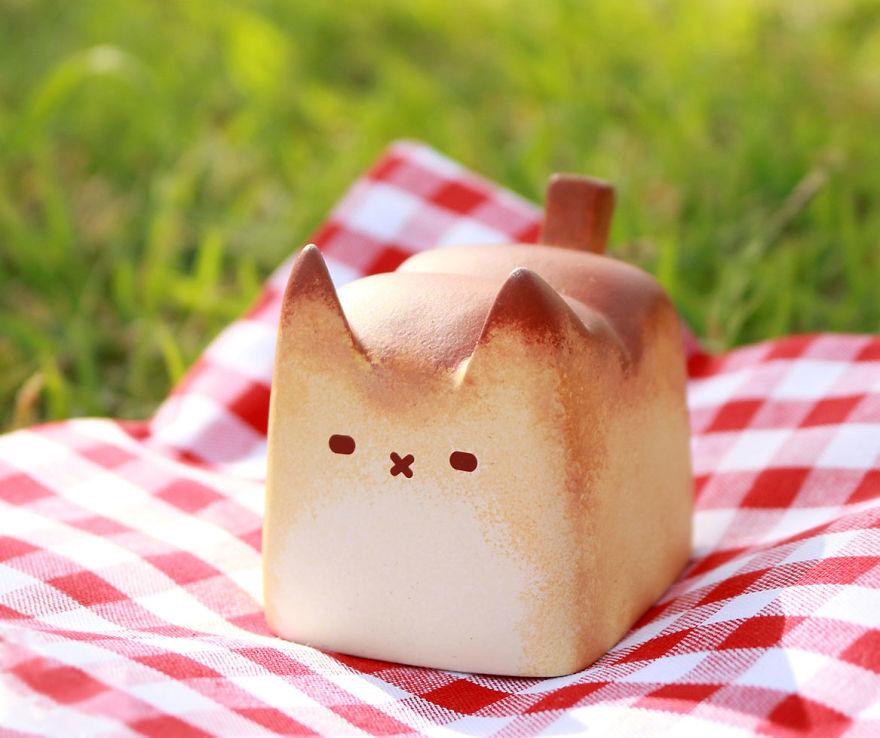 pan con forma de gato rechoncho 9