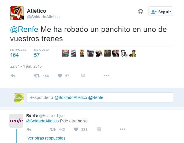 racista Renfe