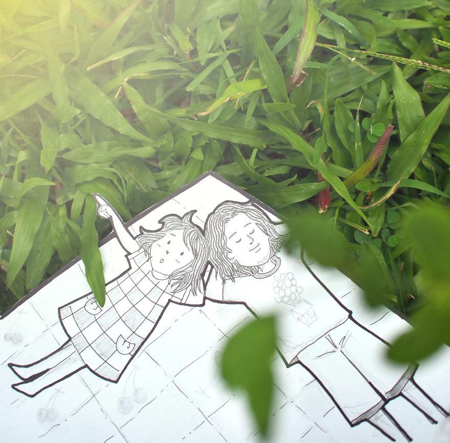 recreando viajes con dibujos 3