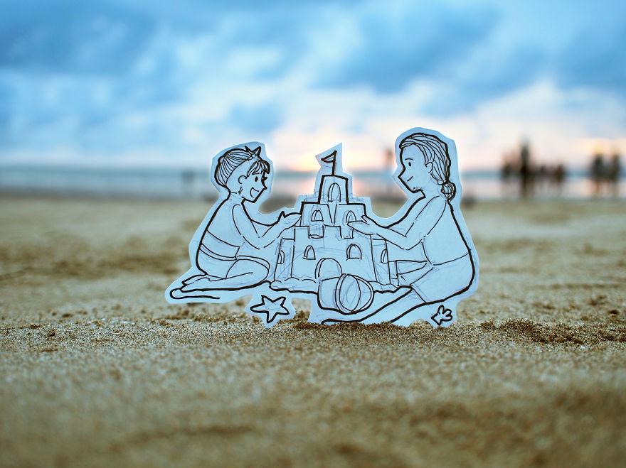 recreando viajes con dibujos 7