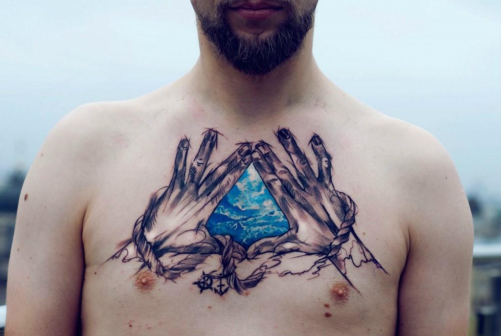 tatuajes amantes naturaleza 7