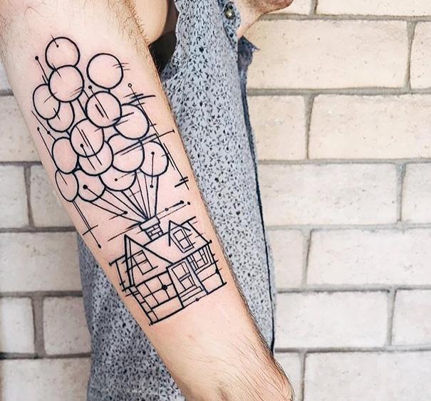 tatuajes inspirados en Pixar 1