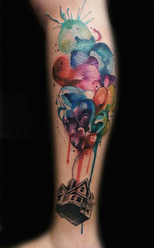 tatuajes inspirados en Pixar 2