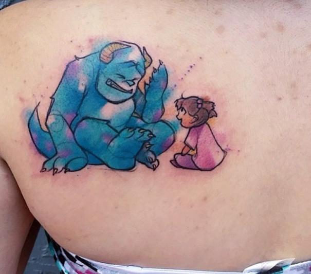 tatuajes inspirados en Pixar 5