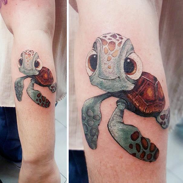 tatuajes inspirados en Pixar 8