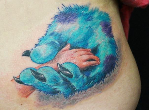 tatuajes inspirados en Pixar 9