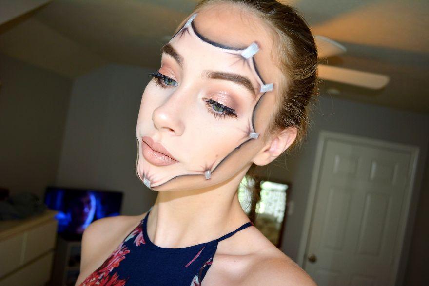 Kate Werner maquillaje 2