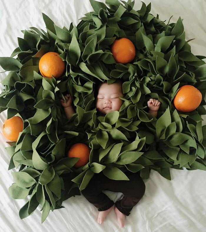 bebe disfrazado 11