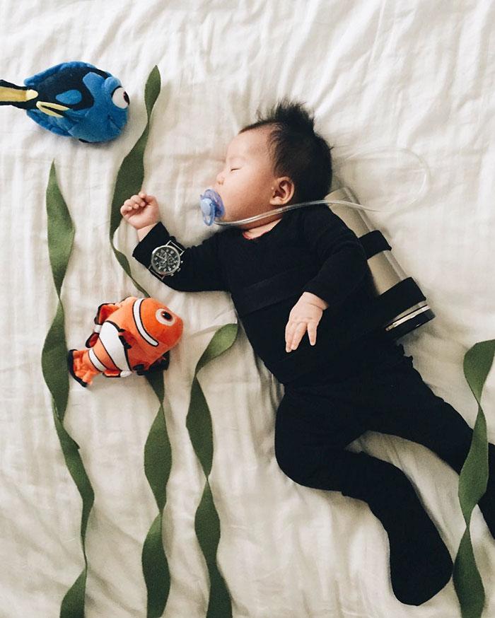 bebe disfrazado 12