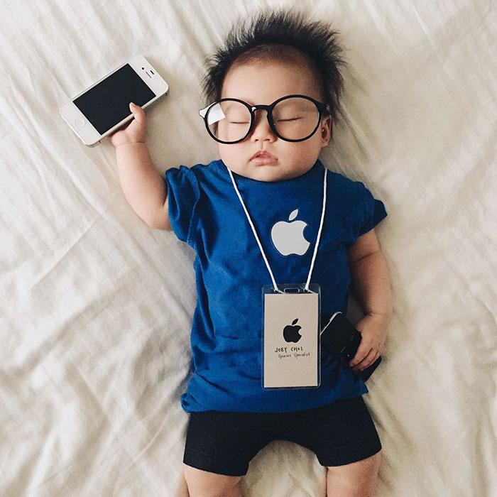 bebe disfrazado 14