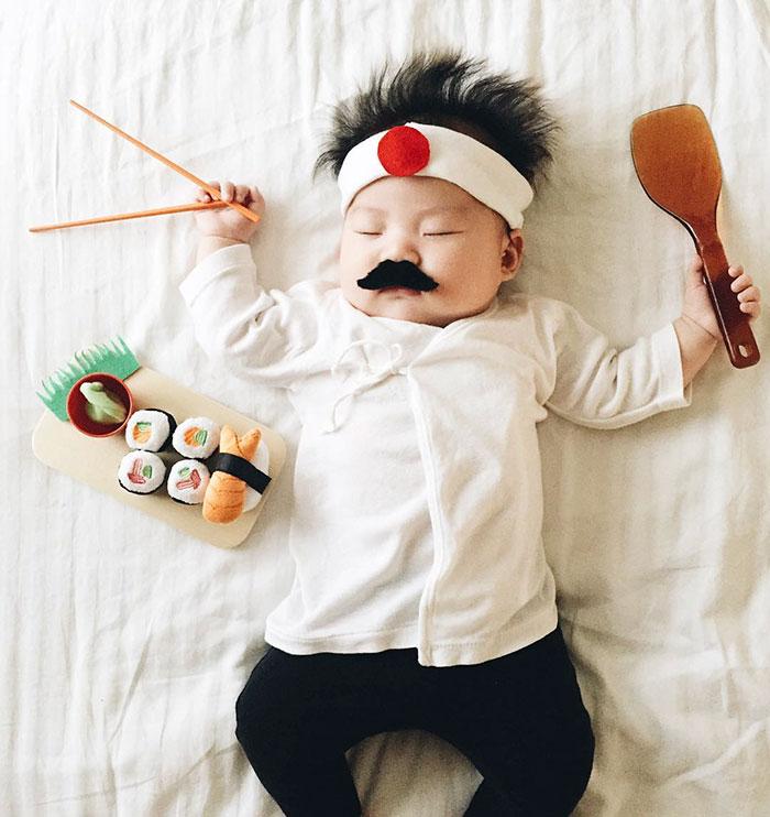 bebe disfrazado 3