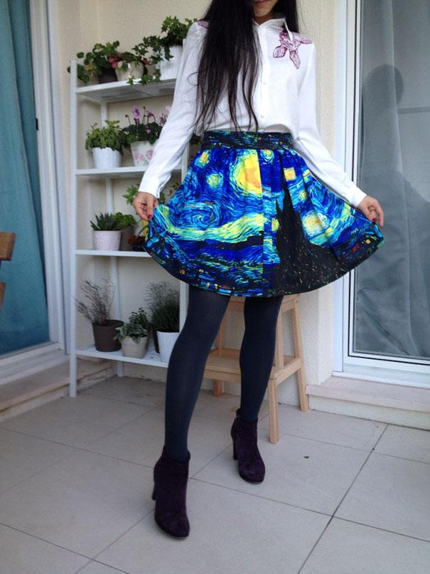 878f88428c8 Faldas y vestidos artísticos - Donvago.com