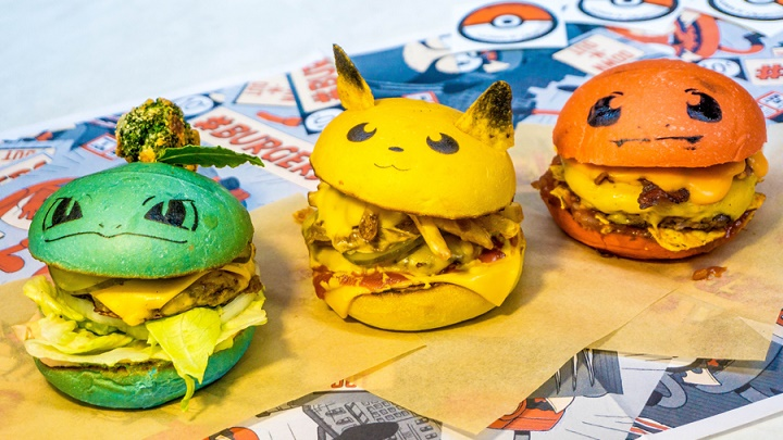 hamburguesas pokemon