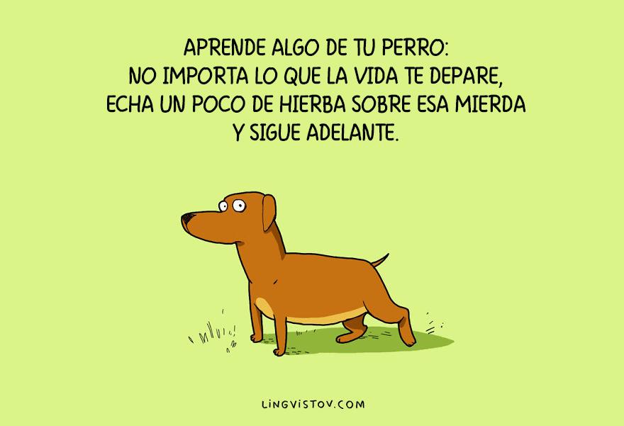ilustraciones perros humor 2
