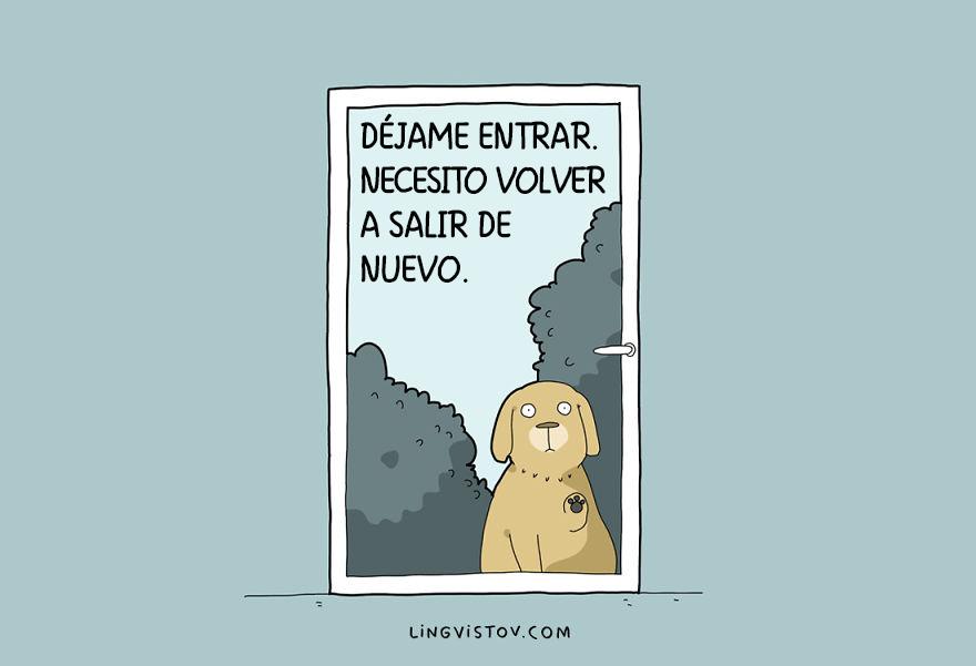 ilustraciones perros humor 5