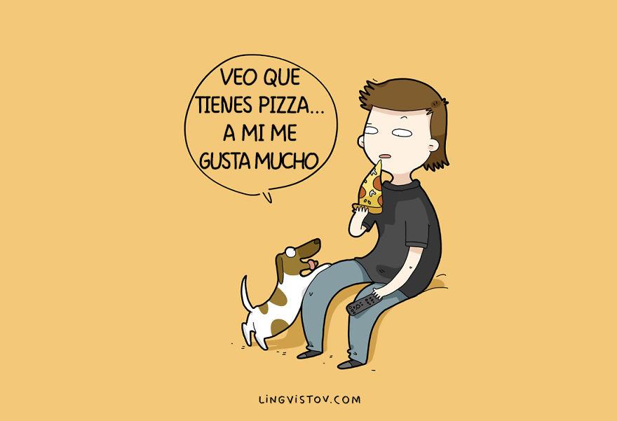 ilustraciones perros humor 6