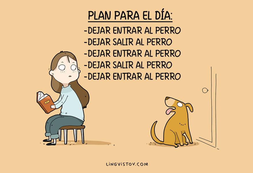 ilustraciones perros humor 8