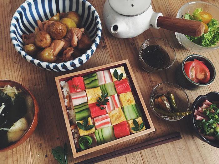 mosaicos sushi 10