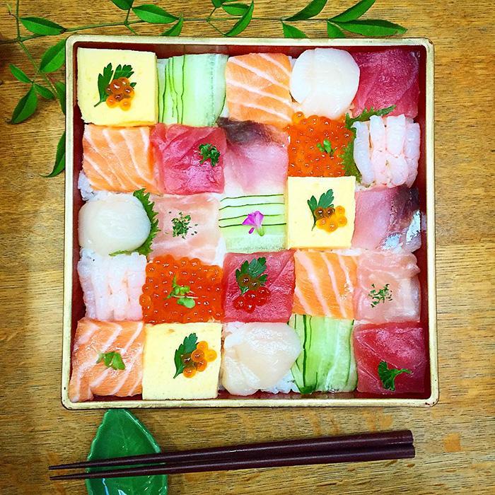 mosaicos sushi 2