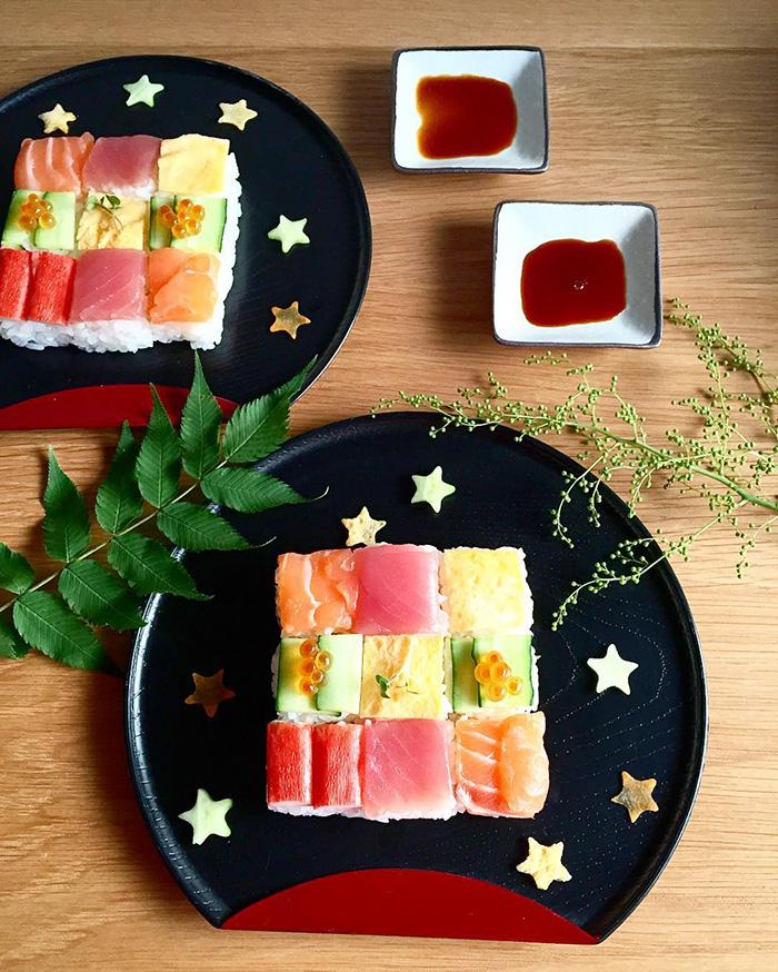 mosaicos sushi 8