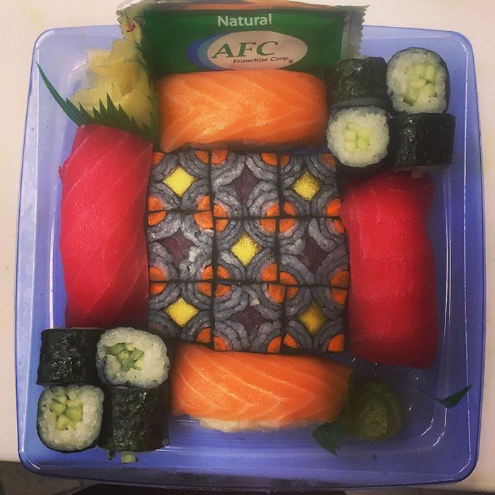 mosaicos sushi 9