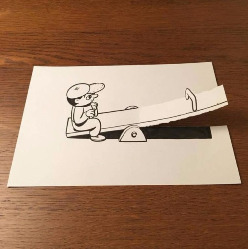 ilustraciones-interactuan-con-el-papel-1