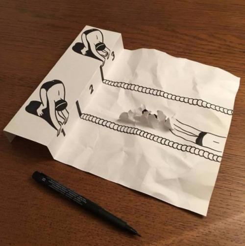 ilustraciones-interactuan-con-el-papel-3