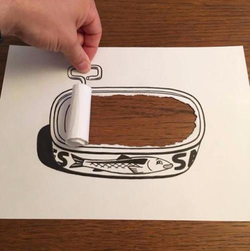 ilustraciones-interactuan-con-el-papel-9