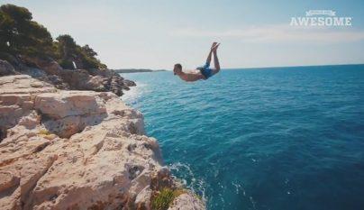 saltando-al-agua