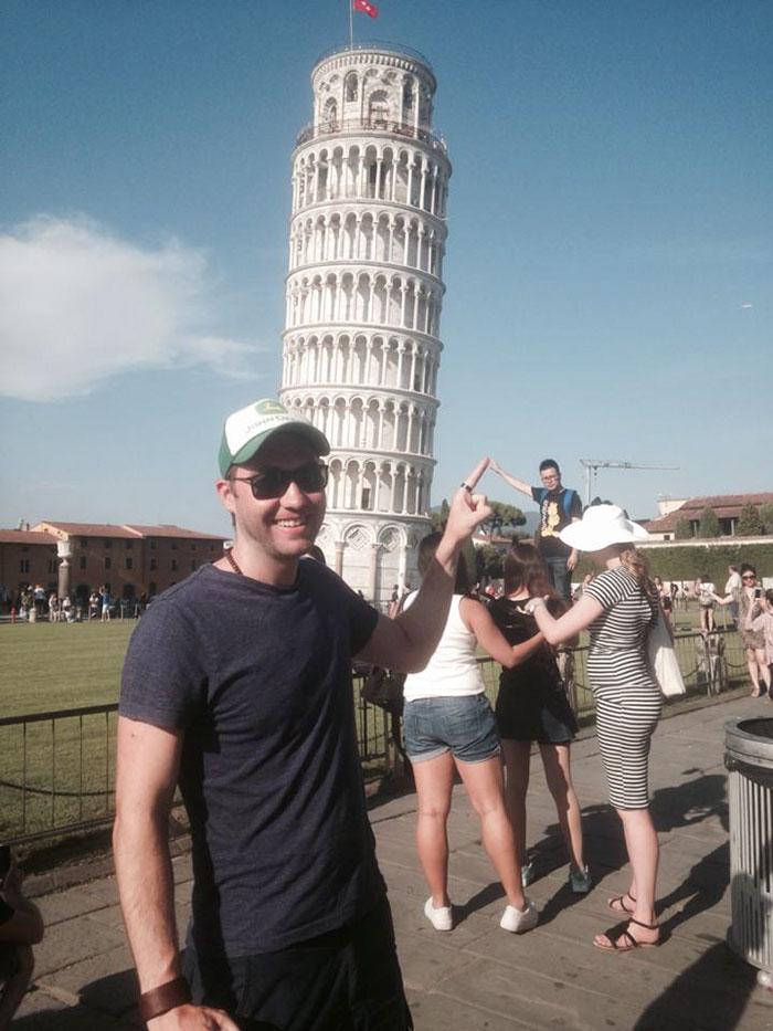 troleo Torre de Pisa 1