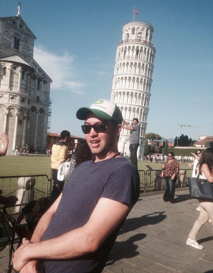 troleo Torre de Pisa 2
