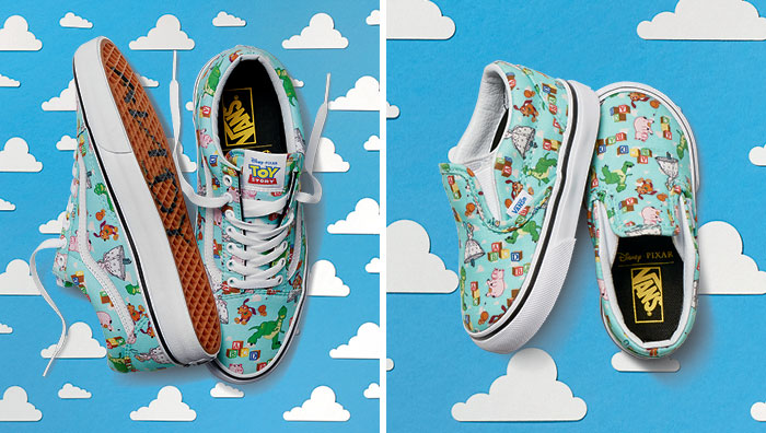 zapatillas vans toy story chile