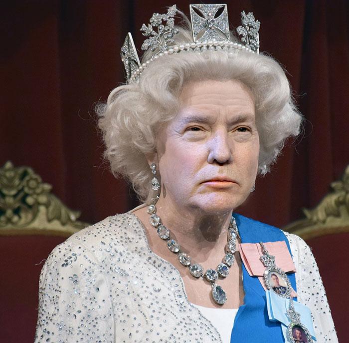 Reina-de-Inglaterra-y-Donald-Trump