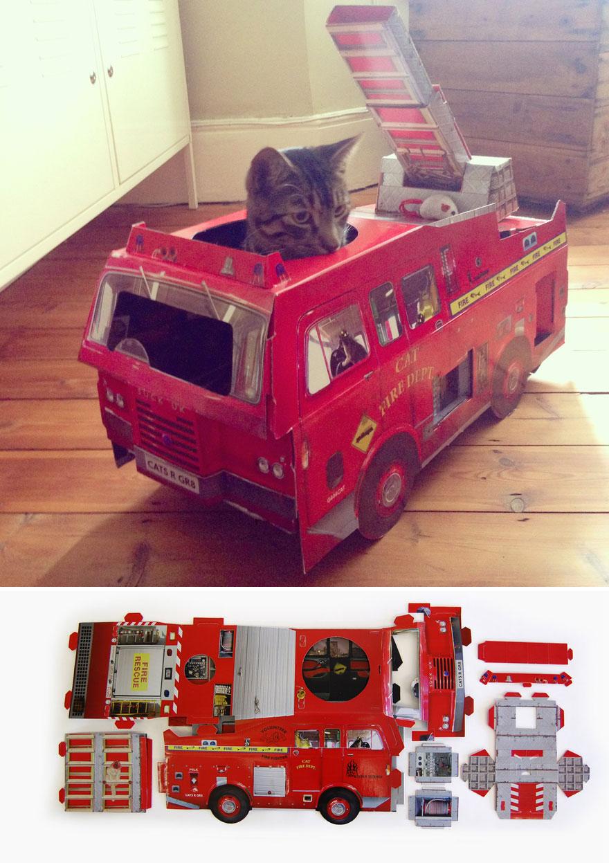 camion-bomberos-gatos